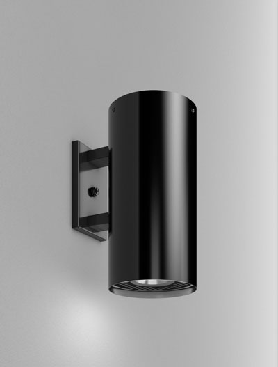 Chandler Series Wall Bracket Church Lighting Fixture in Semi Gloss Black Finish