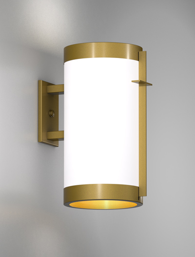 Cleveland Series Wall Bracket Church Lighting Fixture in California Gold Finish