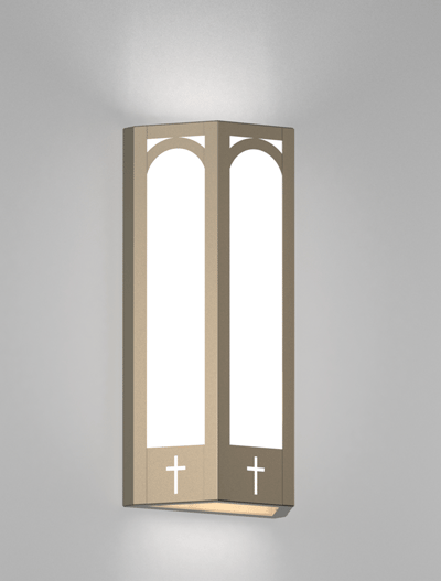 Charleston Series Wall Sconce Church Light Fixture