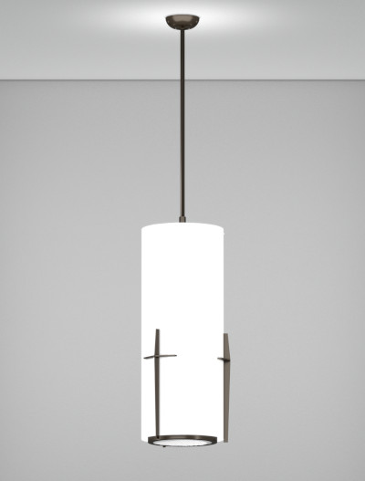 Corvallis Series Pendant Church Lighting Fixture in Duranodic 313 Finish