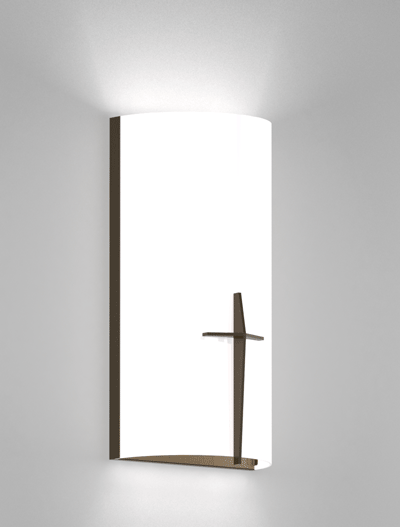 Corvallis Series Wall Sconce Church Lighting Fixture in Duranodic 313 Finish