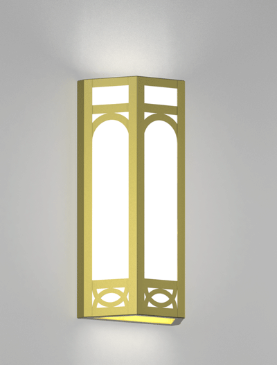 craft metal lighting. dover series wall sconce church lighting fixture in satin brass finish craft metal