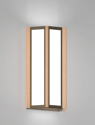 Hampton Series Wall Sconce Church Lighting Fixture in Duranodic 313 Finish
