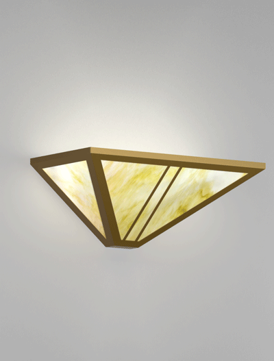 Oak Park Series Wall Sconce Church Lighting Fixture in Roman Gold Finish