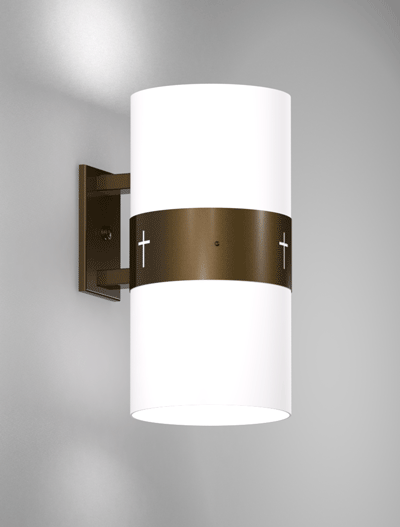 Phoenix Series Wall Bracket Church Lighting Fixture in Oil Rubbed Bronze Finish
