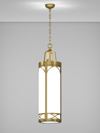 Roxburry Series Pendant Church Lighting Fixture in Roman Gold Finish