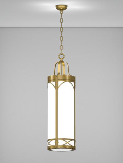 Roxburry Series Pendant Church Lighting Fixture in Roman Gold Finish
