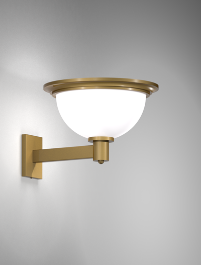 San Francisco Series Wall Bracket Church Lighting Fixture in Roman Gold Finish