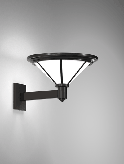 Spokane Series Wall Bracket Church Lighting Fixture in Semi Gloss Black Finish