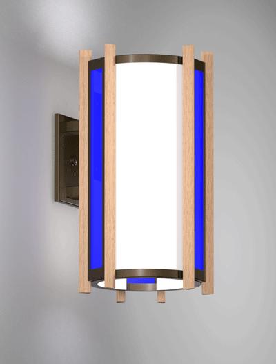 Winchester Series Wall Bracket Church Lighting Fixture in Duranodic 313 Finish
