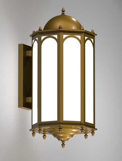 Custom Series  Church Lighting Fixture in Medium Bronze Finish