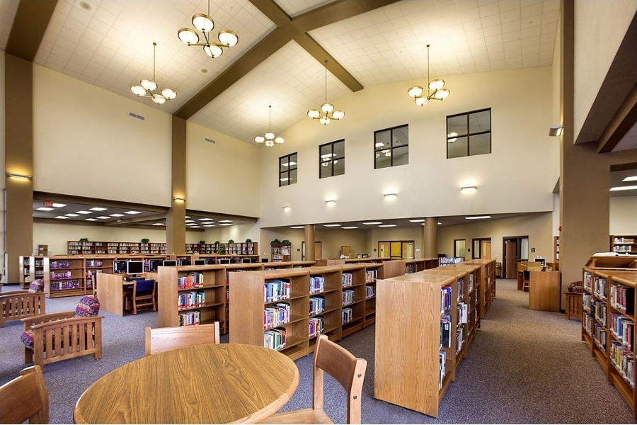 Libraries Lighting - Charlotte High School