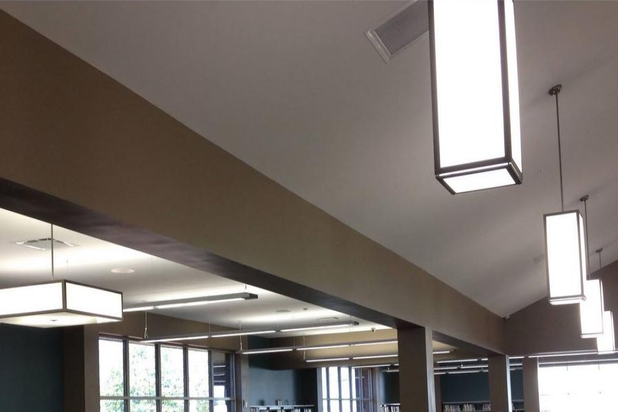 Libraries Lighting - Dothan Library