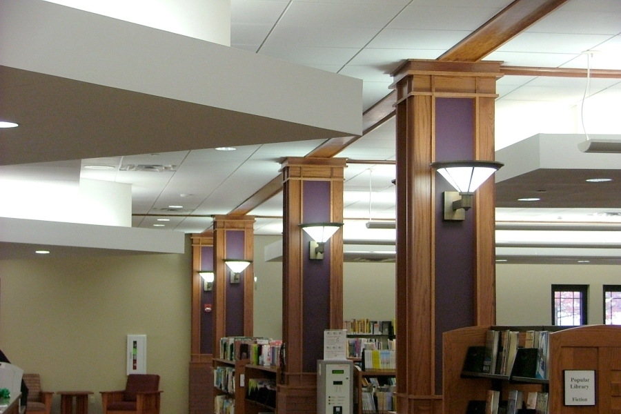 White Haven Library Lighting