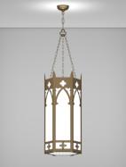 Cambridge Series Pendant Church Light Fixture
