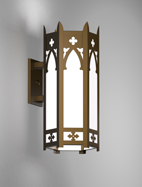 Cambridge Series Wall Bracket Church Light Fixture