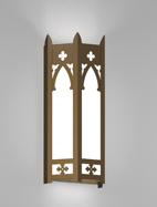 Cambridge Series Wall Sconce Church Light Fixture