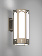 Charleston Series Wall Bracket Church Light Fixture