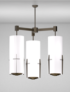 Corvallis Series 3-Arm Cluster Pendant Church Light Fixture