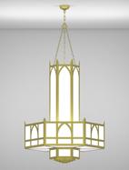 Hagerstown Series 3-Tier Large Pendant Church Light Fixture