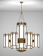 Church Lighting Lancaster Series 6-arm Satellite Pendant