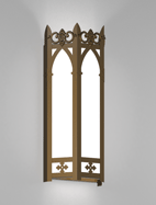Lancaster Series Wall Sconce Church Light Fixture
