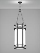 Oxford Series Pendant Church Light Fixture
