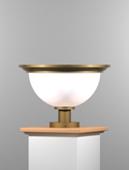 San Francisco Series Pedestal Mount Church Light Fixture