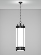 Savannah Series Pendant Church Light Fixture